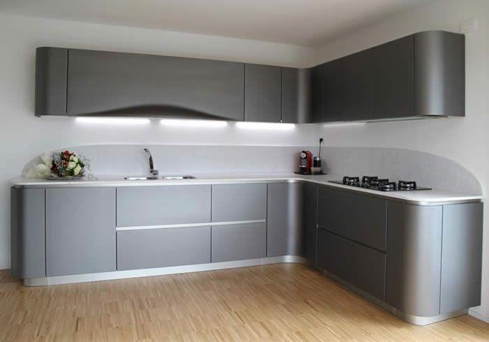 Spiksplinternieuw Afbeeldingsresultaat voor mat grijze keuken wit | Keuken, Witte MP-75