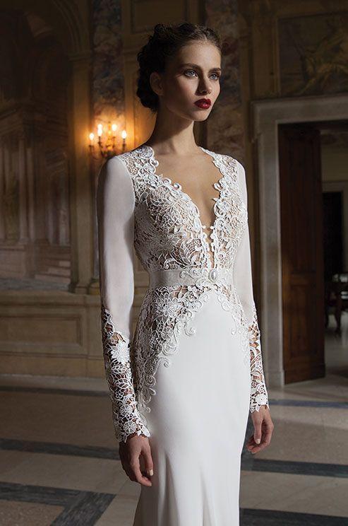 30 preciosos vestidos de novia para invierno | bodas | pinterest