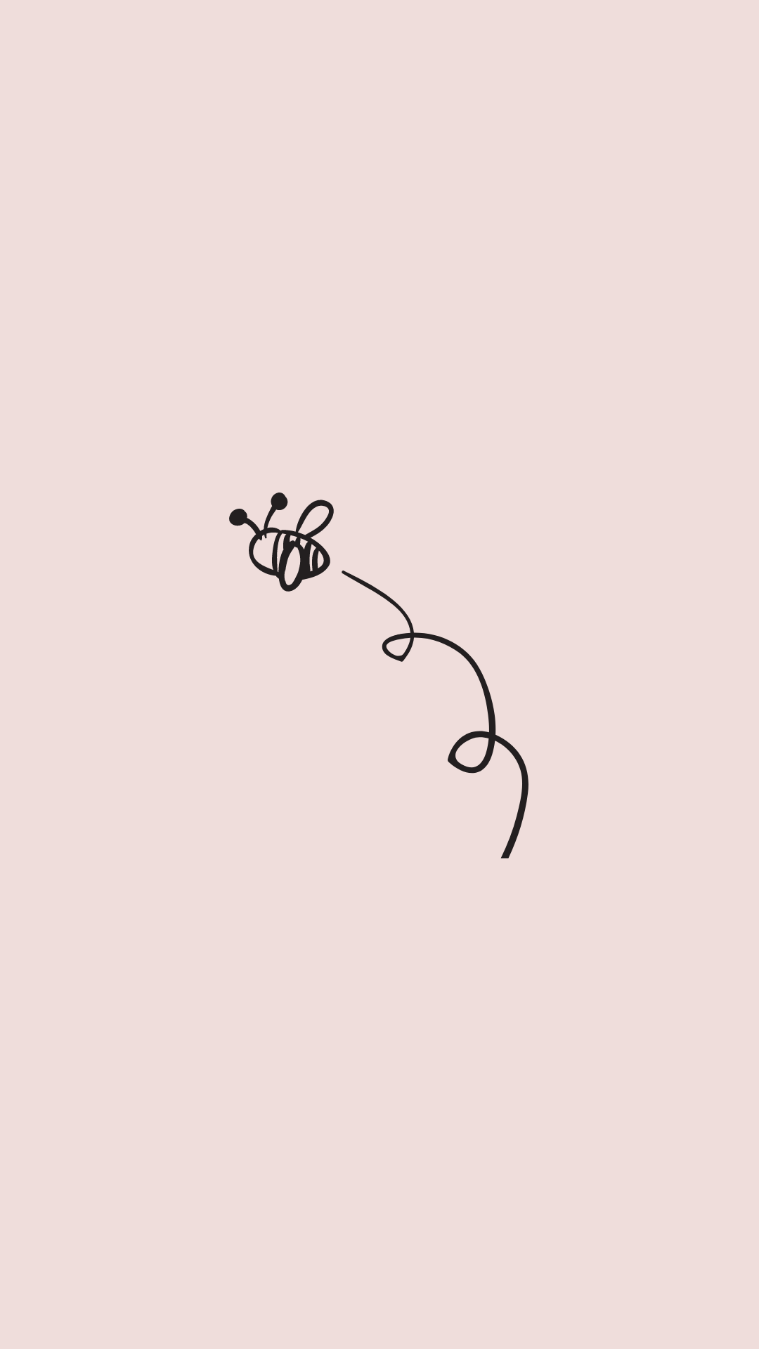 Pink Spring Wallpaper iPhone   Bee