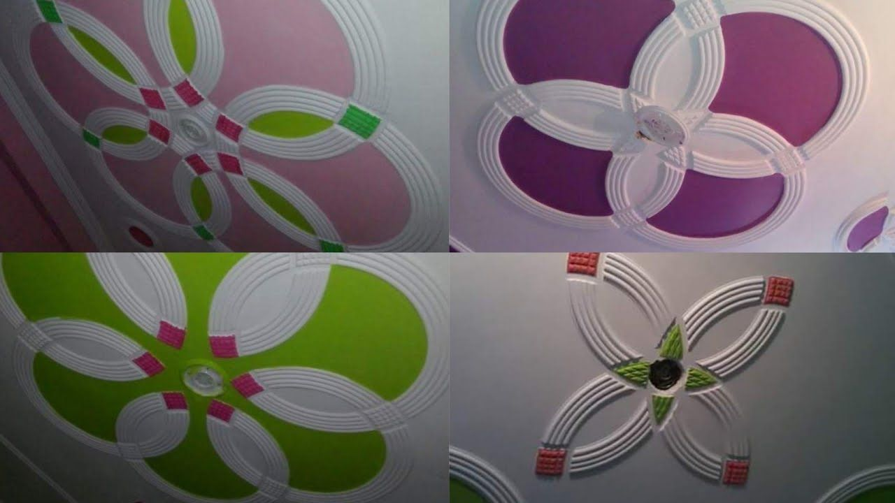 Roof Fan Box Color P O P Design Rk P O P Contractor Pop Design For Roof Pop Design Pop Ceiling Design