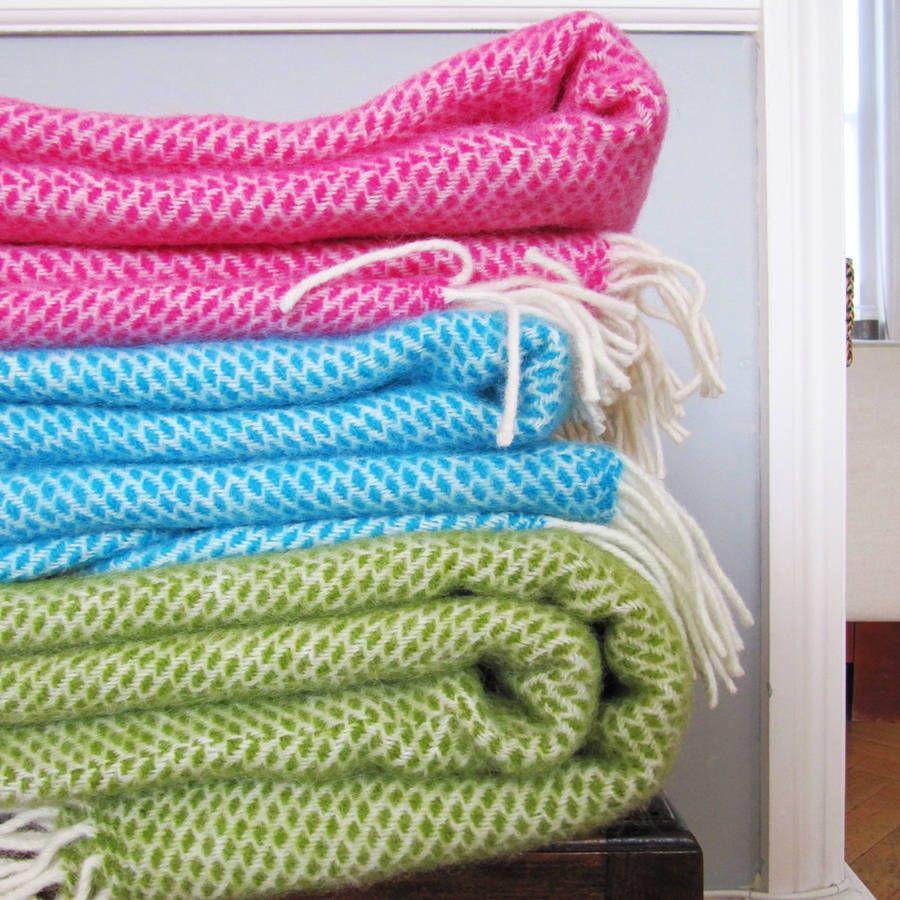 Mosaic Wool Blanket
