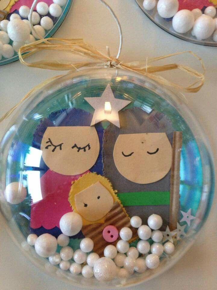 Hermosa Trabajos manuales Pinterest Hermosa, Navidad y Esferas - trabajos manuales