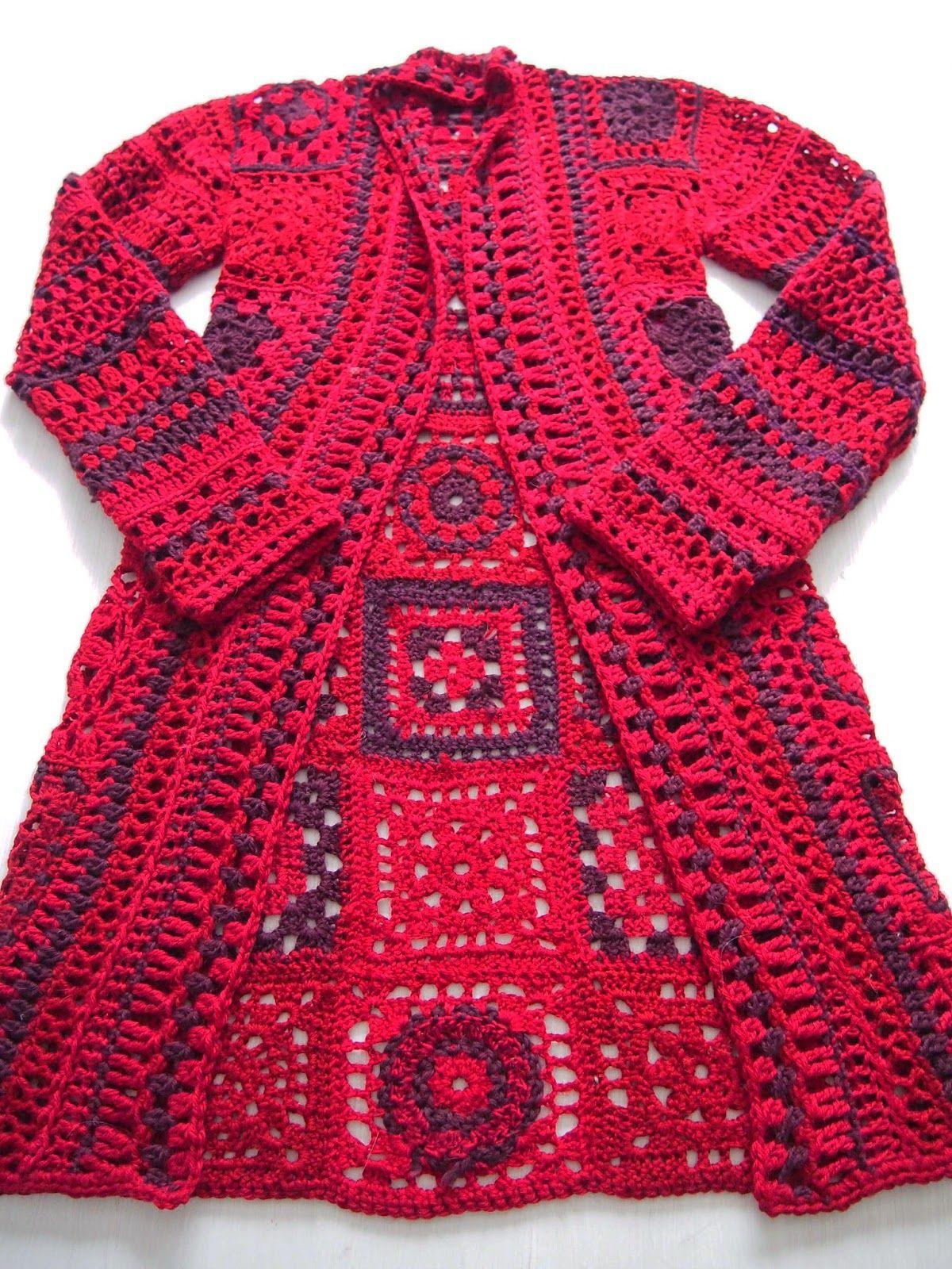 Crochet....fácil cuadrados....imaginación...combinás colores a tu ...
