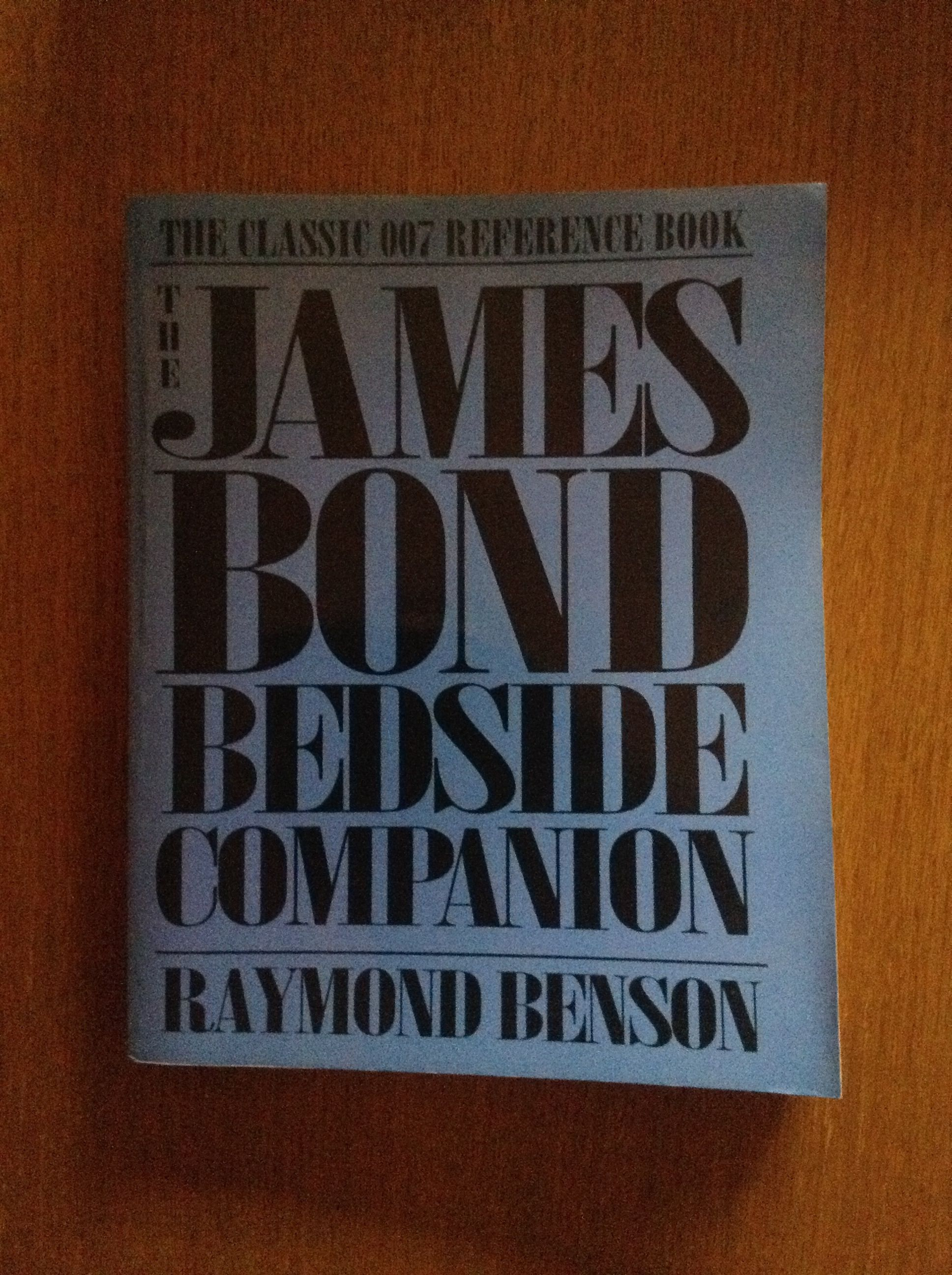 The James Bond Bedside Companion by Raymond Benson. A classic!