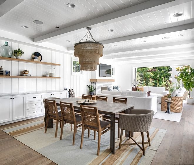 Casual Dining Room Buffet Decorating Ideas: California Modern Farmhouse For Sale (Home Bunch