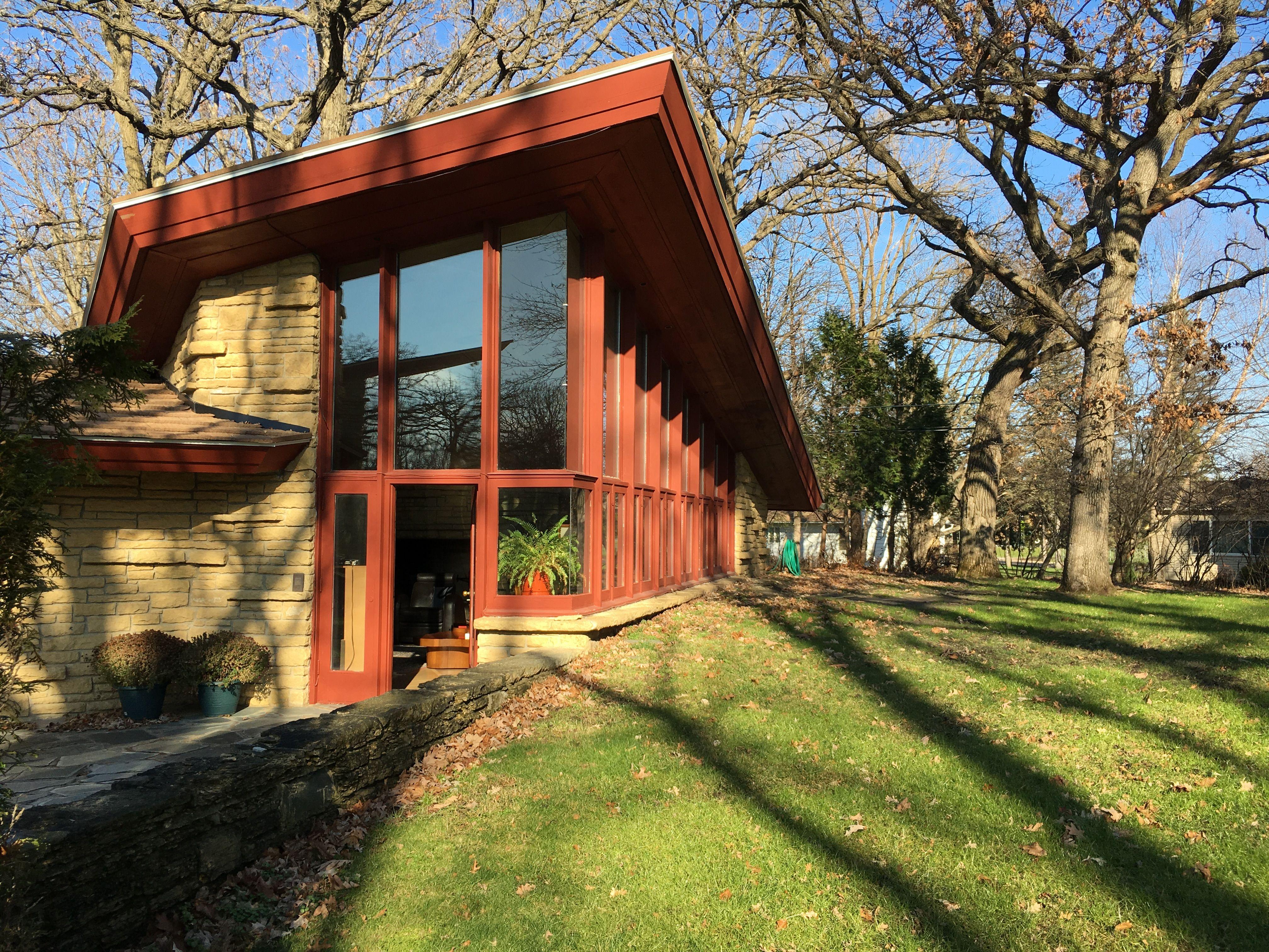 Elam House Frank Lloyd Wright Austin Mn Architecture House