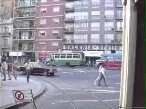 Filmacion de una calle en Caballito(Buenos Aires)´80 - YouTube