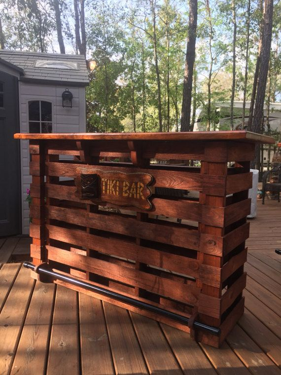 the floridian pallet bar tiki bar september sale the. Black Bedroom Furniture Sets. Home Design Ideas