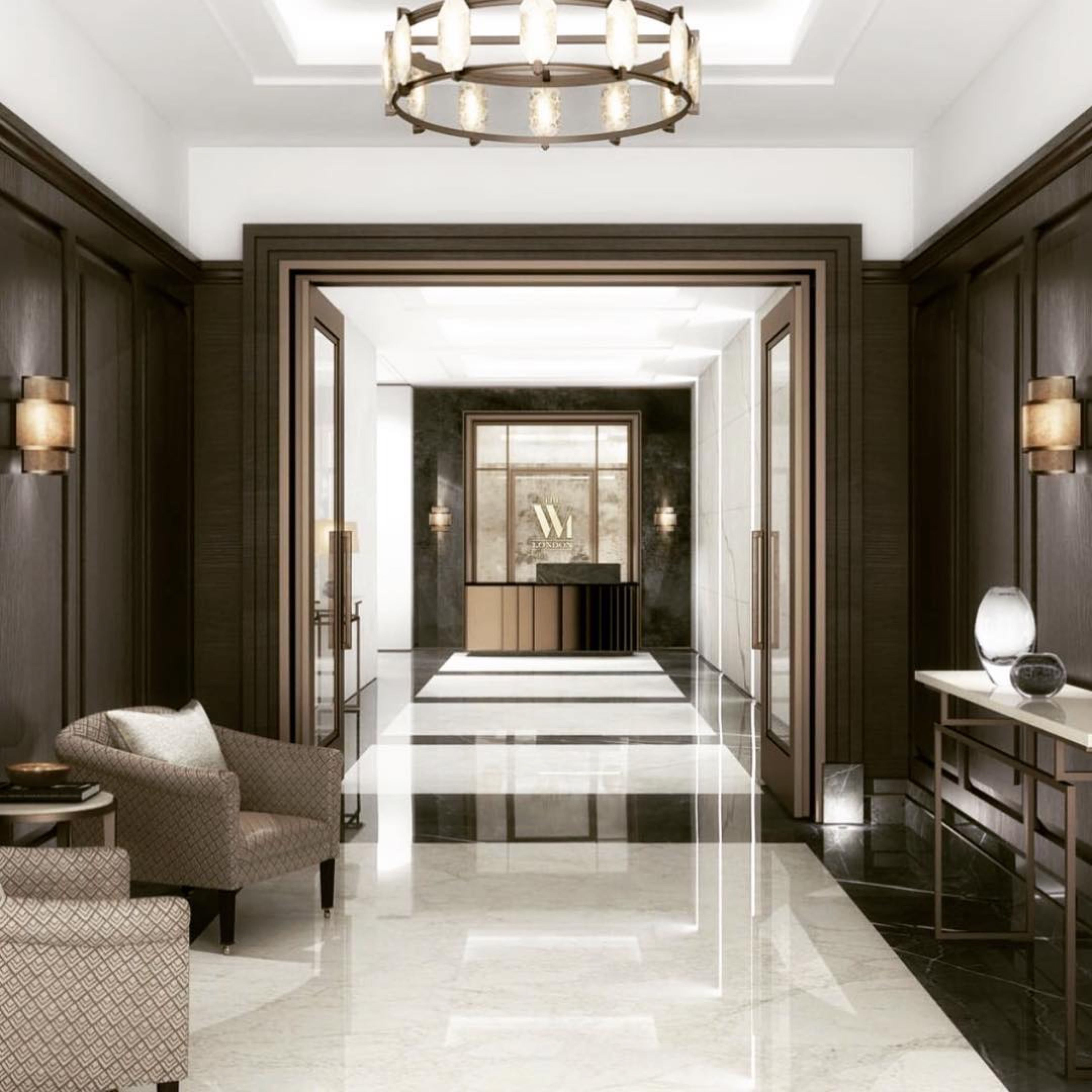 Luxury hallway furniture  house home architecture realestate homes luxury