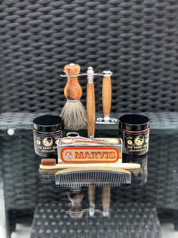 The Ultimate Gentleman's Grooming Gift Set Includes Gift