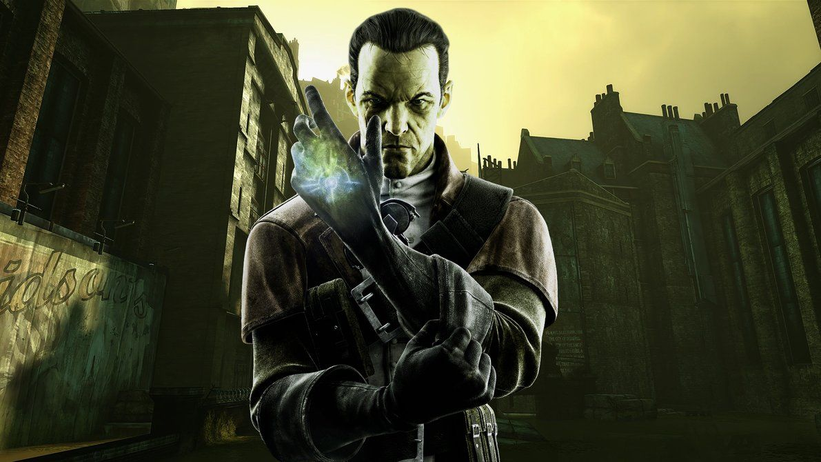 Daud In The Flood District Wallpaper Dishonored By