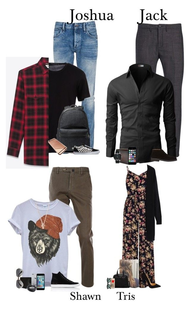 """""""Ootd"""" by fairy-dxst ❤ liked on Polyvore featuring Denham, Department 5, Dolce&Gabbana, Incotex, Yves Saint Laurent, Perry Ellis, Ray-Ban, Saks Fifth Avenue Collection, Barneys New York and Common Projects"""
