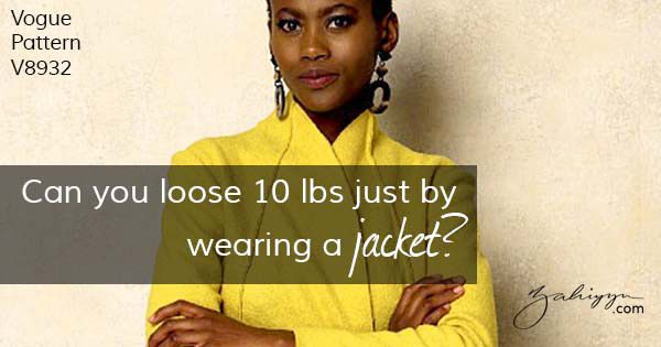 Can you loose 10 lbs just by wearing a jacket?
