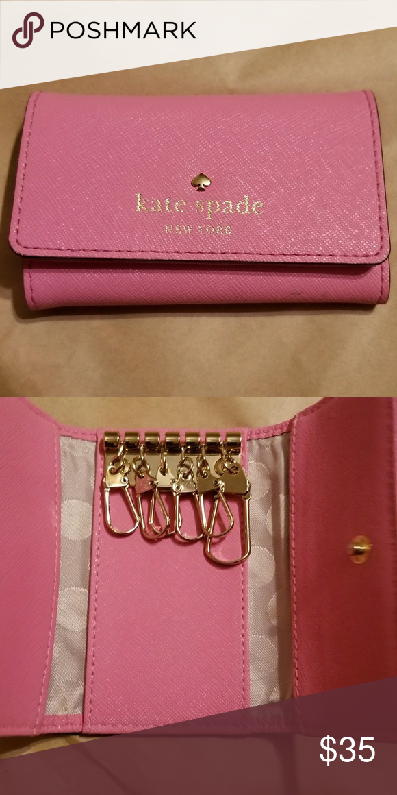 Case Authentic Kate Spade Key Wallet
