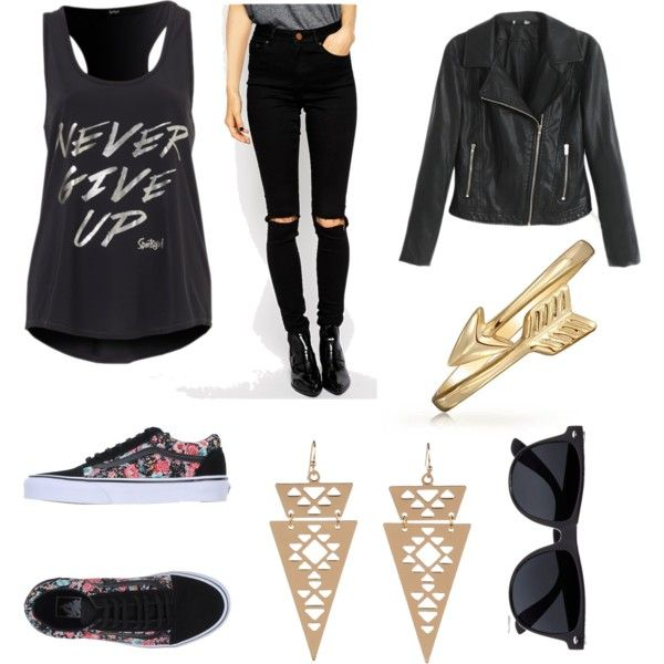 """""""Casual Rock"""" by brittjah on Polyvore"""