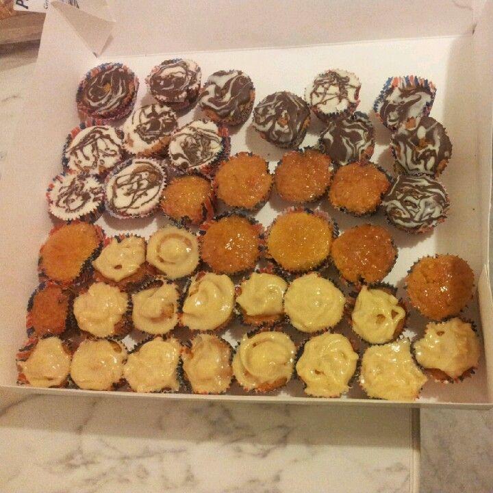 Mini cupcakes varias