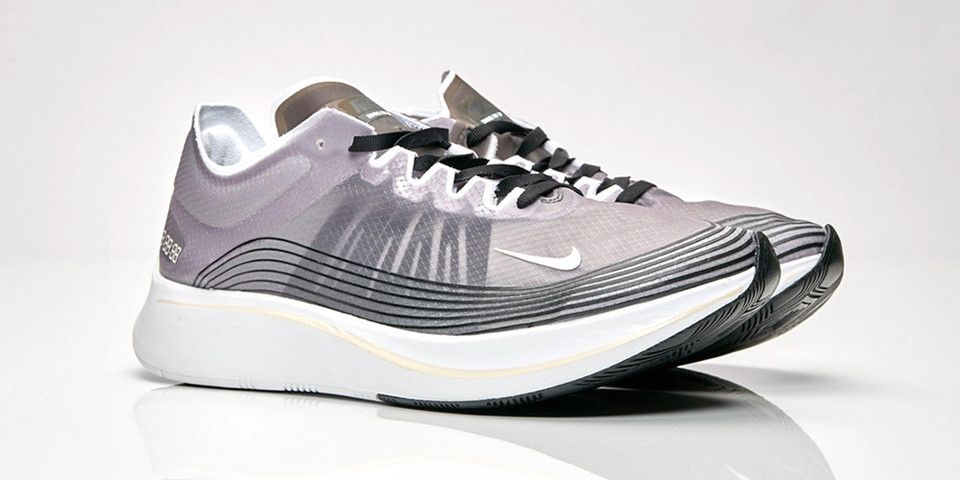 04821c01ceffcb Nike Zoom Fly SP Black Light Bone-White Release