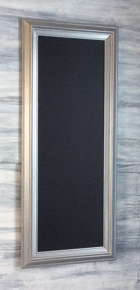 MODERN FRAMED Chalkboard Long and Narrow Kitchen Chalkboard 41\