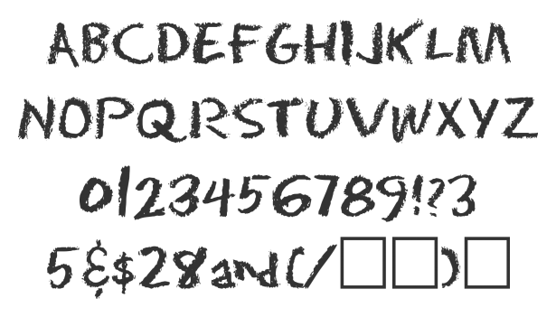 Eraser font via font squirrel