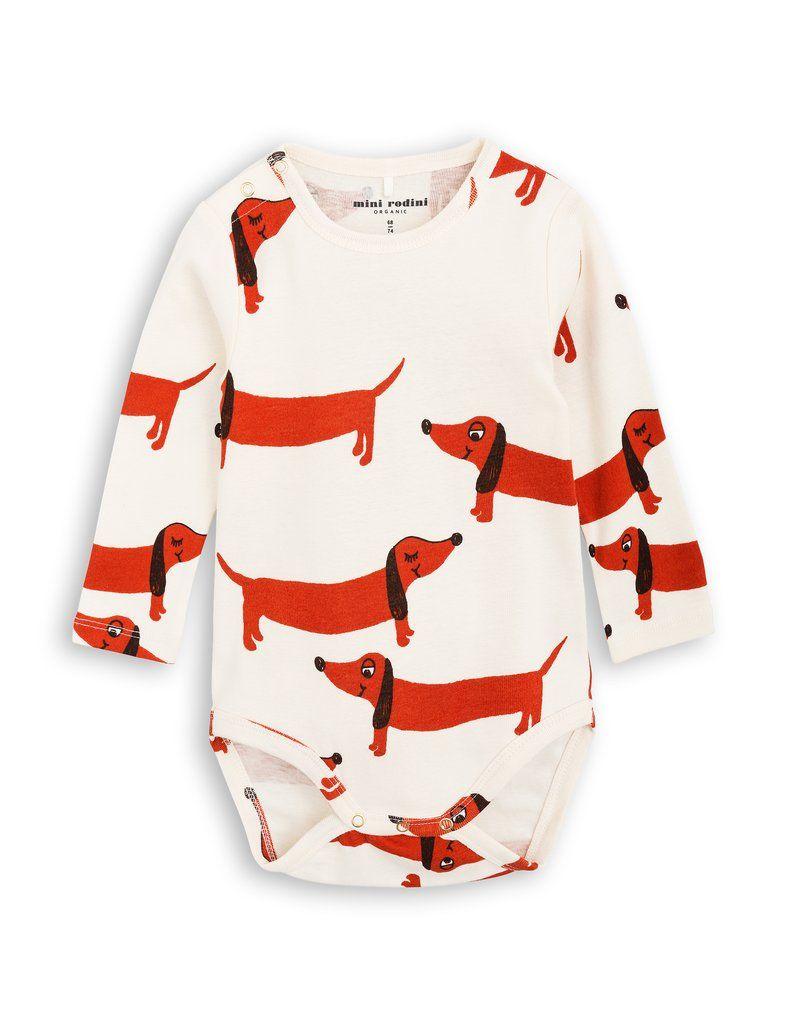 422195f675e3 Mini Rodini - Dogs baby bodysuit