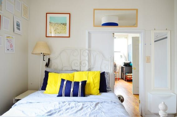 In Carroll Gardens, two roommates have created a colorful, welcoming retreat with vintage finds, clever DIYs, and a smattering of IKEA.