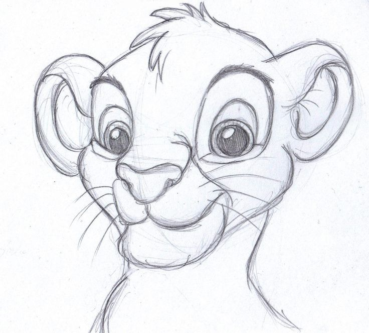 Pencil Drawings Disney