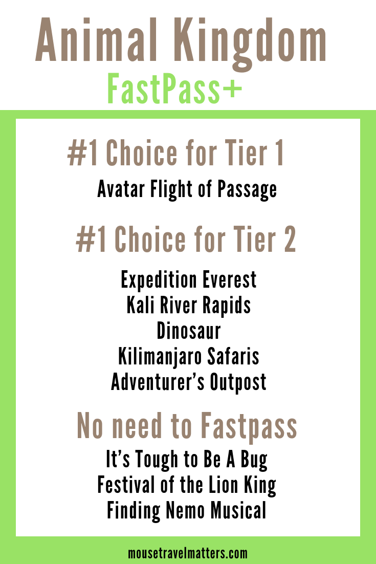 Animal Kingdom Fastpass Tips and Itinerary for Families #animalkingdom If you ar…