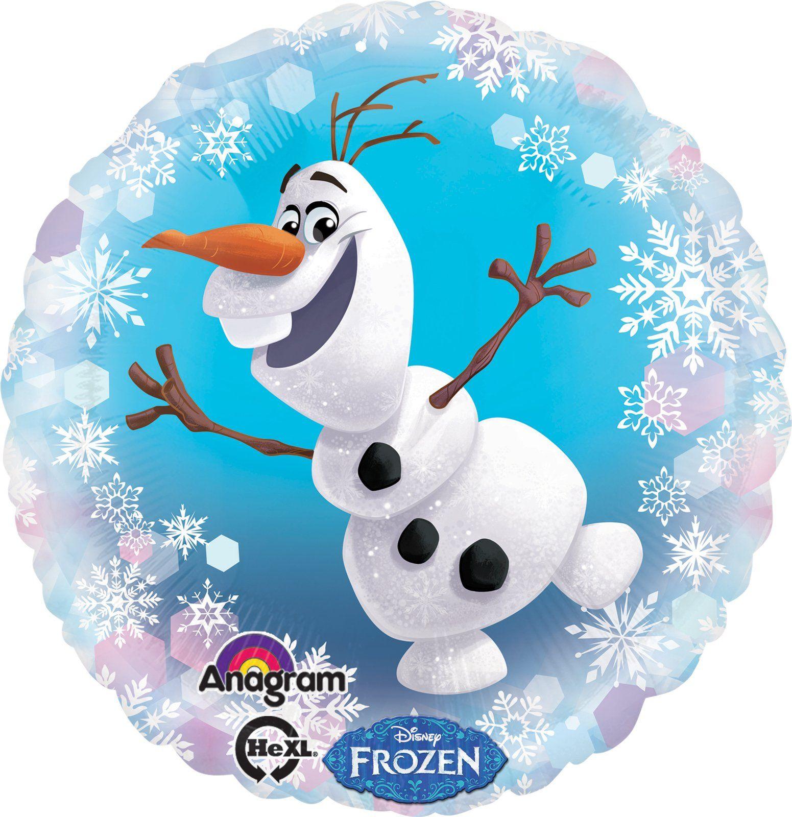 Disney Frozen Olaf Foil Balloon from BirthdayExpress.com