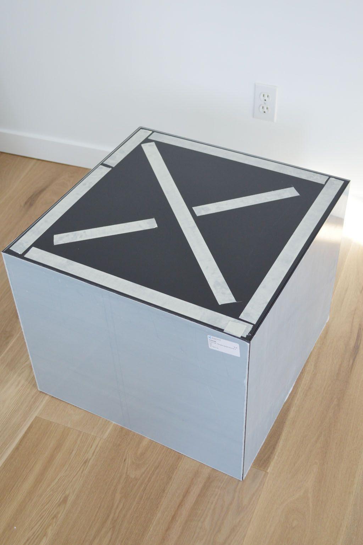 Ikea Hack Lack Table With Plexiglas Ikea Hack Lack Tisch Mit Plexiglas Ikea Hack Aufbewahrung Ikea Hack Wohnzimmer Ikea Mangel