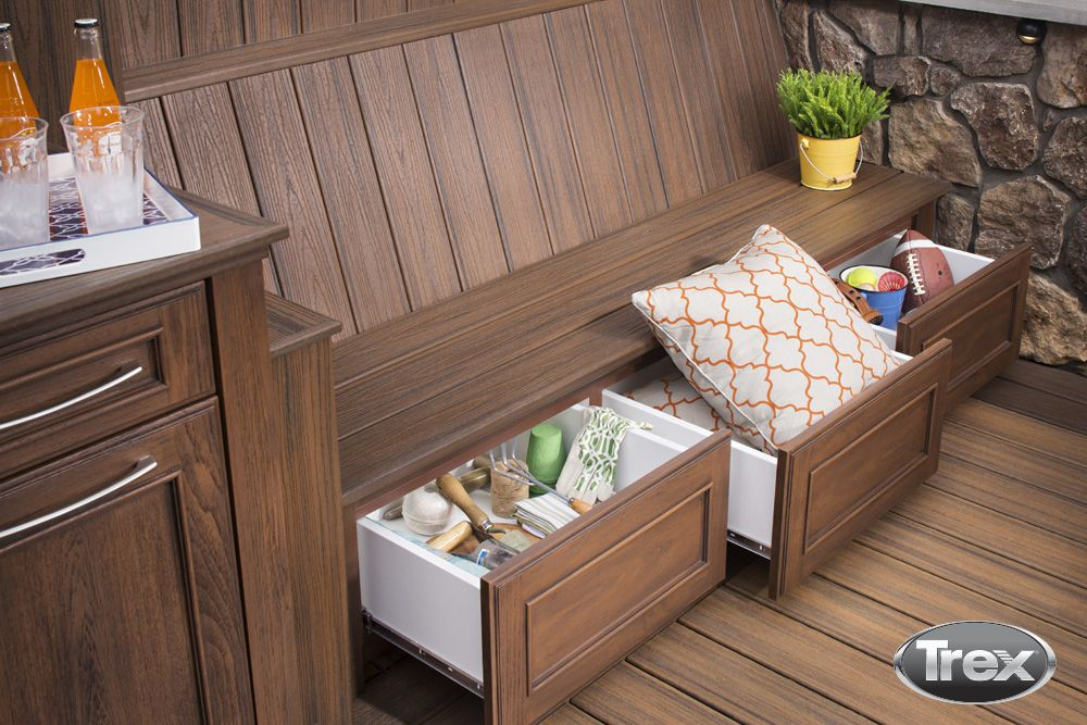 The uses of the Trex Outdoor Storage collection are endless. What would you use our storage for in your outdoor living space? http://www.trex.com/products/decor-and-furniture/outdoor-storage/