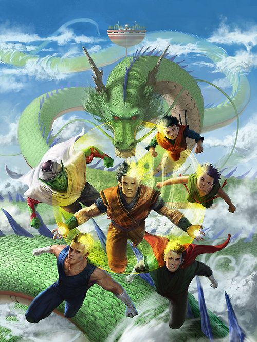 Dragon Ball Z  Created by Angel Palacios