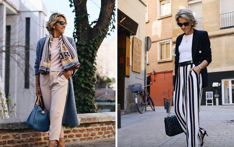 Стильно и красиво: брюки для женщин старше 40 (фото) (с ...