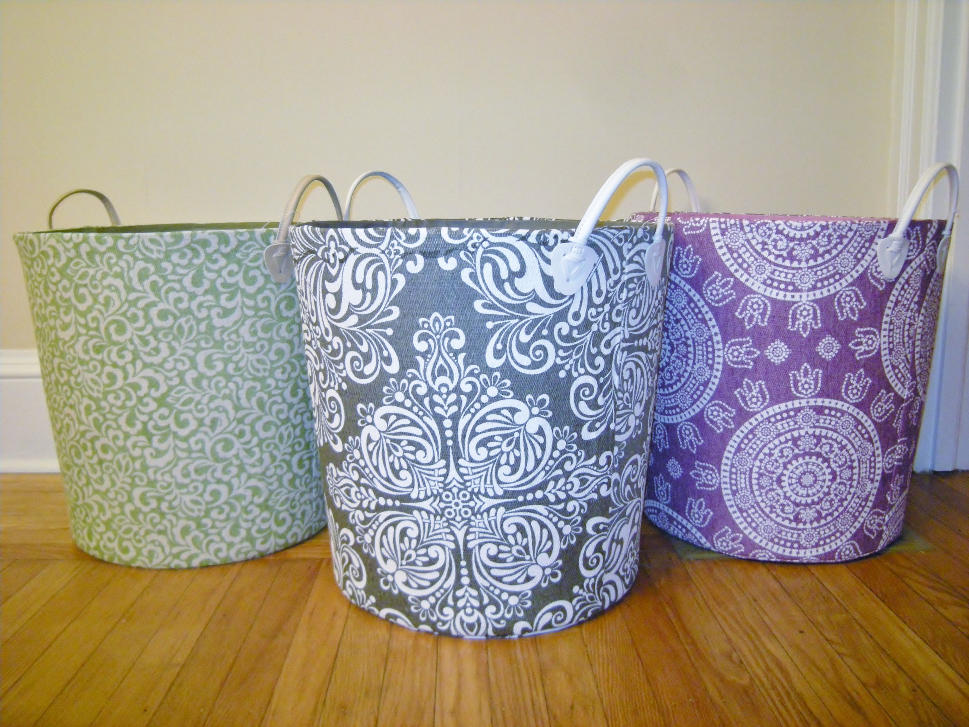 Pretty Laundry Baskets How A Professional Organizer Does Laundry Magic  Heartwork