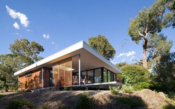 Fertighaus Moderne Architektur Und Schöne Umgebung   Architektur