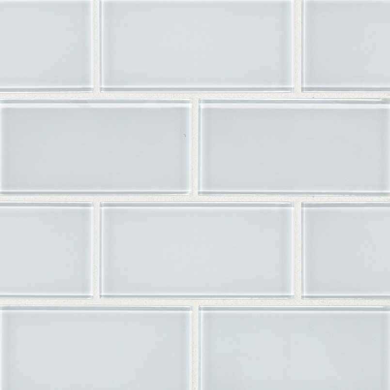 Smot Gl T Ic36 Ice Subway Tile 3x6x8mm White Clicsubwaysize