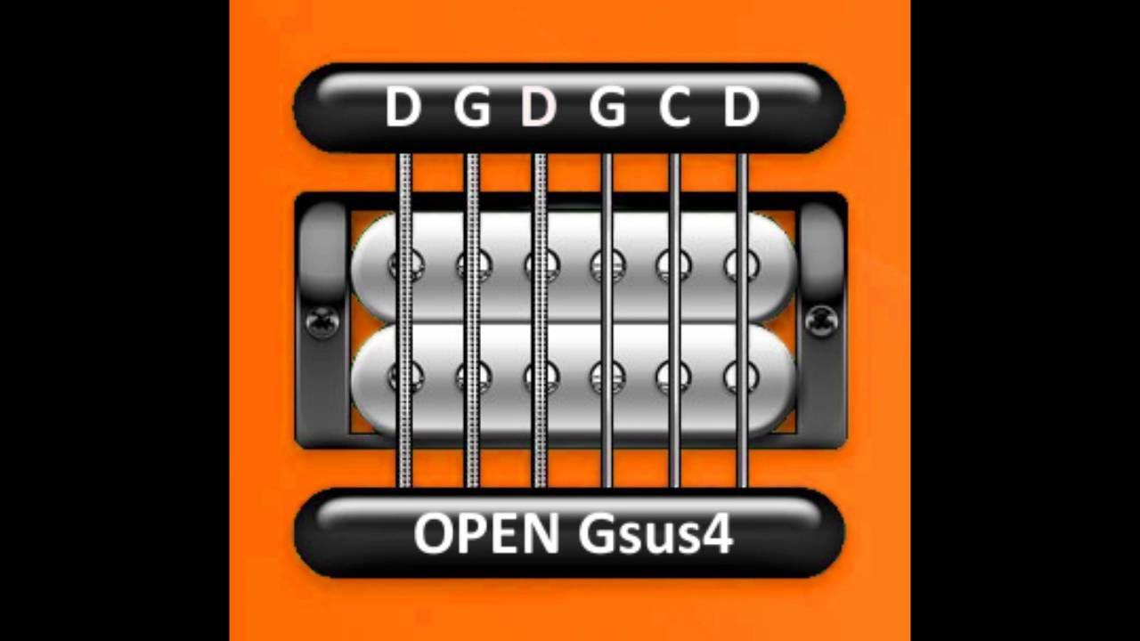 Perfect Guitar Tuner Open Gsus4 D G D G C D Youtube Guitar Tuners Guitar Tuner