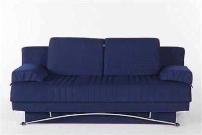 Fantasy Queen Convertible Sofa Bed In Silverado Chocolate By Istikbal