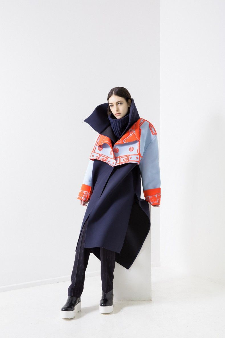 xiao li fw15 - Deux Hommes - London Fashion Week LFW