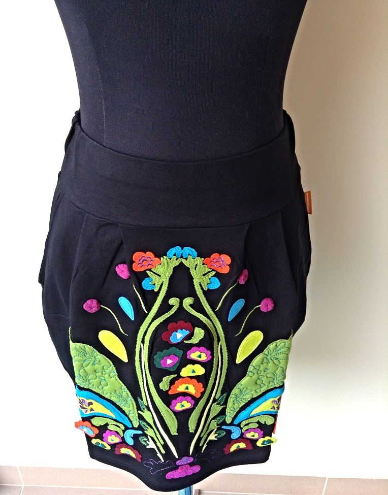 'Floreale' skirt by Mamatayoe