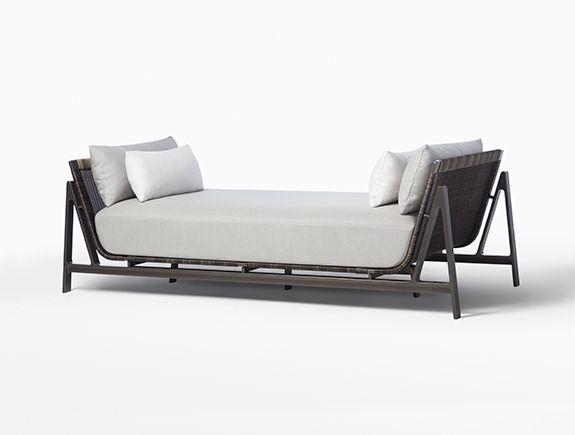 Holly Hunt Manta Ray Divan Ikea Patio Furniture Furniture Sofa