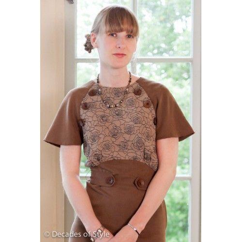 Schnittmuster: 3007 - 1930s Button Dress