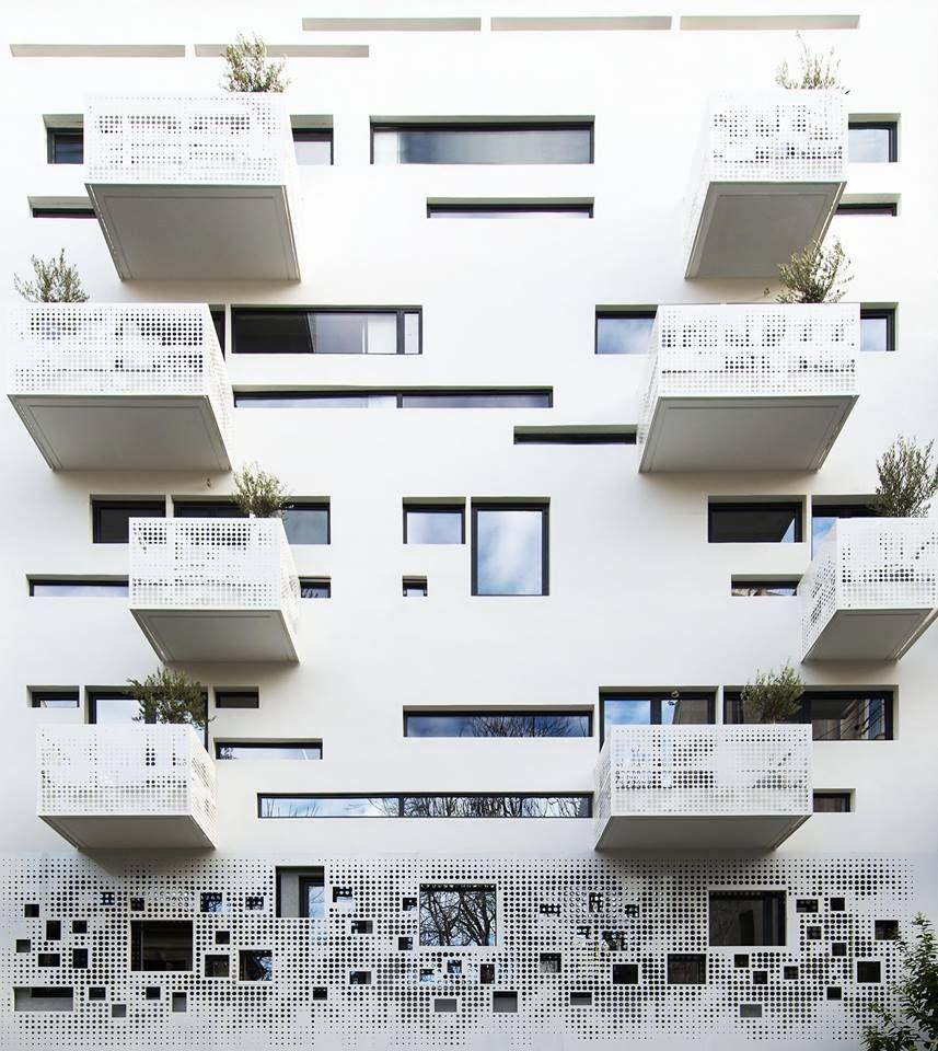 Moderne wohnarchitektur white facade  tela  facades  pinterest