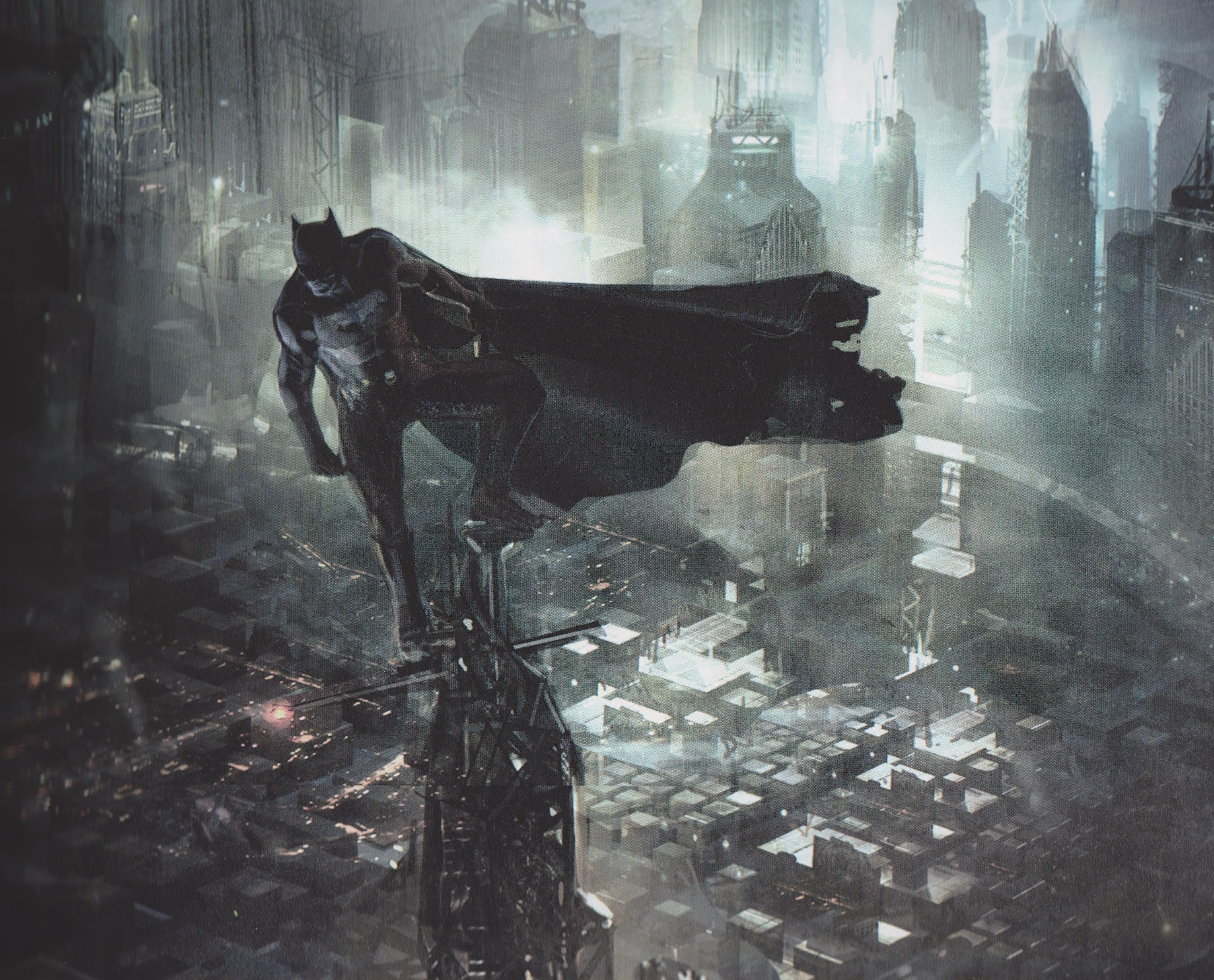 Arkham Knight Robin Concept Art