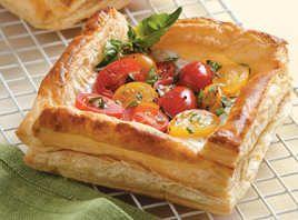 Billede af Mini Tomattærte fra Verdens Lækreste Opskrifter | Mad og kager | Recipes, Food, Mini