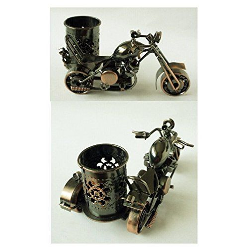 Handmade Crafts, Motorcycle Harley Davidson Handmade Collectible,Pen Holder Design, Size: M 06