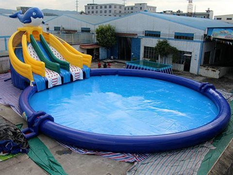 Large Blue Inflatable Swimming Pool For Sale Swimming Pool Designs Swimming Pools Inflatable Swimming Pool