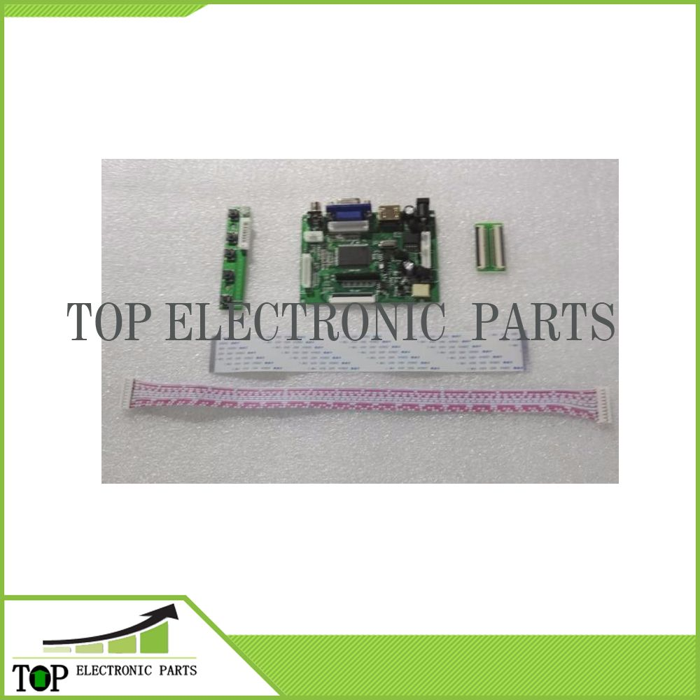 Display LCD Placa Controladora LVDS TTL 50PIN para AT070TN90