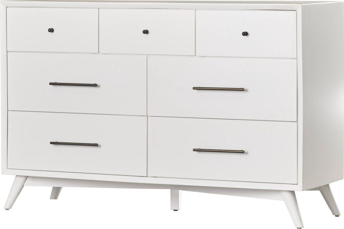 Parocela 7 Drawer Dresser Parocela Drawer Dresser W74