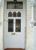 Edwardian style front door