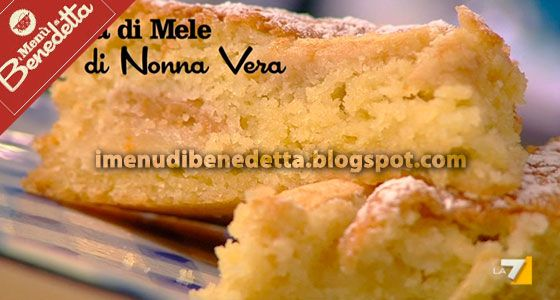 Torta Di Mele Di Benedetta Parodi Recipes Torte Cake E Desserts